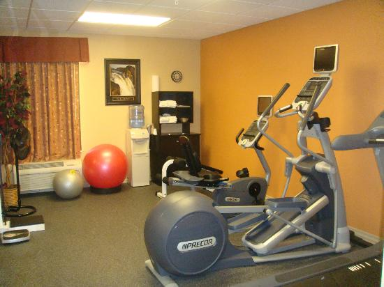 Hampton Inn Longmont : Hotel Exercise Room