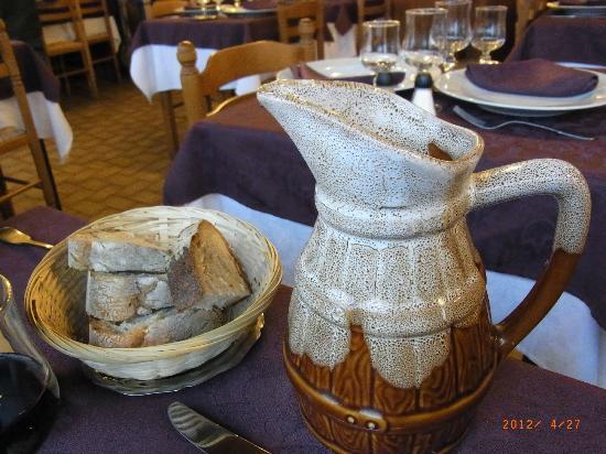 Hotel du Lion d'Or: dining