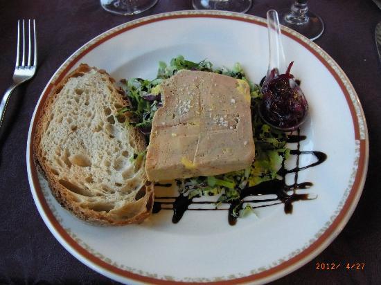 Hotel du Lion d'Or: starter