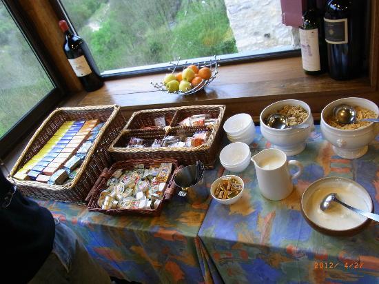Hotel du Lion d'Or: breakfast