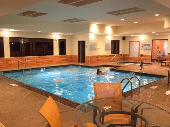 Hampton Inn & Suites Shreveport-South: indoor pool at Hampton Inn Shreveport South