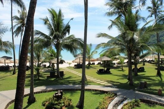 The Taaras Beach & Spa Resort : view from our room ocean front studio