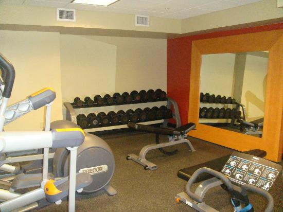 Hilton President Kansas City: Hotel Fitness Room