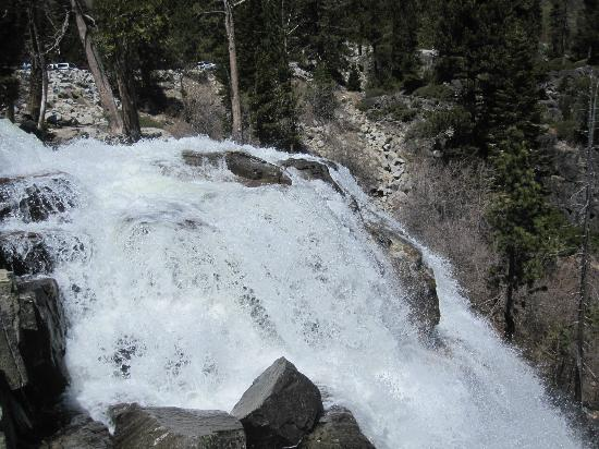 South Lake Tahoe, Kaliforniya: waterfall