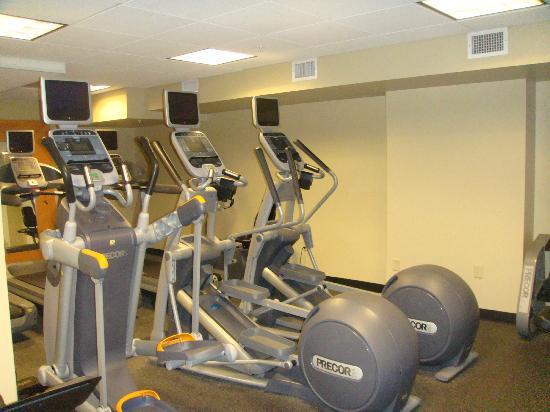هيلتون برزيدنت كنساس سيتي: Hotel Fitness Room