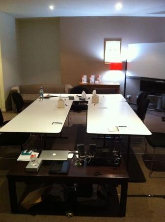 Quest Prahran: Conference room set up