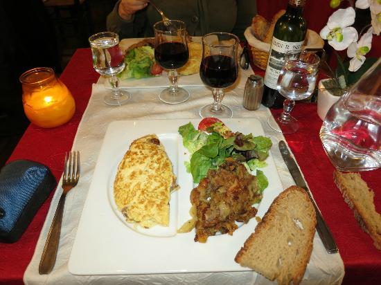 Auberge de la Salamandre: Dinner