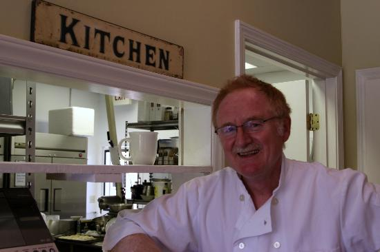 Eat Crow: The wonderful owner and baker of great pies and desserts-Dominic!