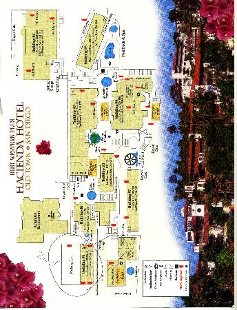 Hotel Bulding Map Picture of Best Western Plus Hacienda Hotel Old