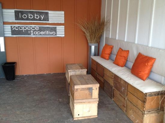 Adrift Hotel and Spa: funky recycled decor