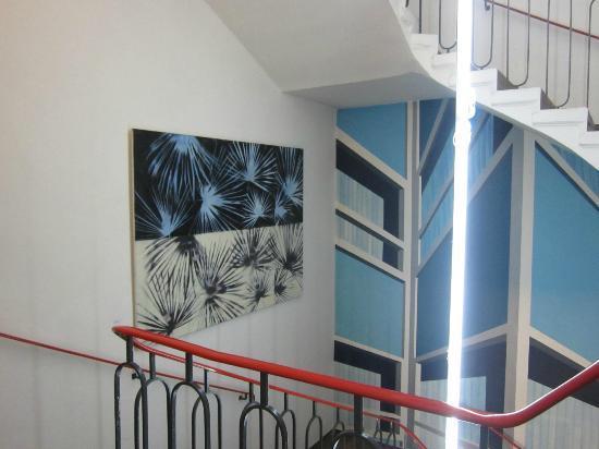 Hotel KUNSThof: Stairs