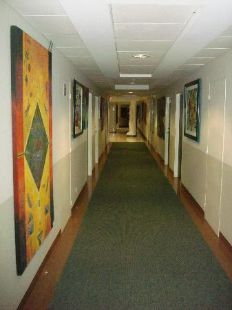 Hotel Galeria Man-Ging: The hallway