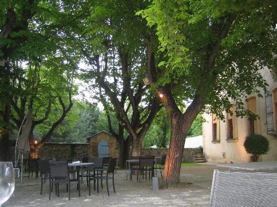 Chateau de la Pioline: parc