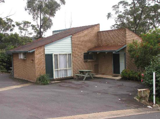 Merimbula Motor Lodge : A typical guest cabin