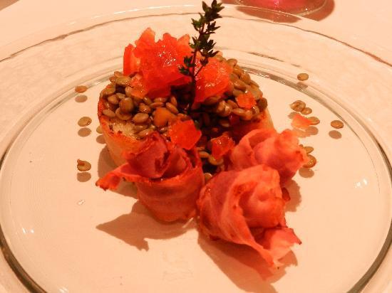 Griesalp Hotel: Nachtessen sieht lecker aus