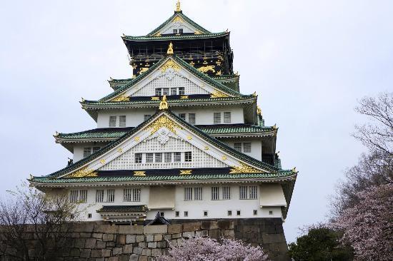 Dotonbori Hotel: Osaka castle