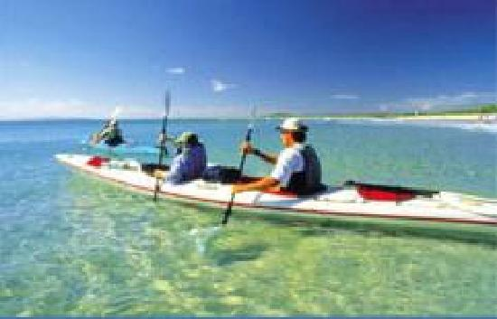Sandy Beach Resort Noosa: Free kayak hire