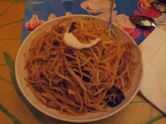 Mr Wong : CHF $15 vegetarian noodles
