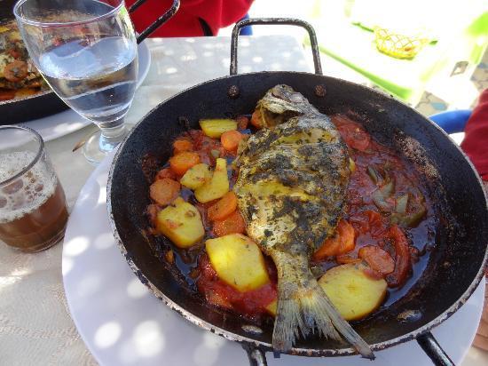 Restaurant Des Reves : Dorade grillée