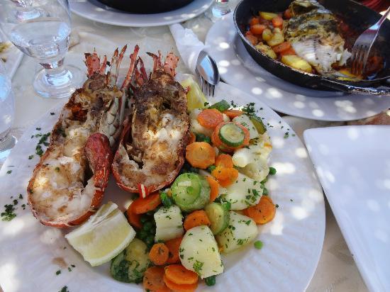 Restaurant Des Reves: Langouste grillée