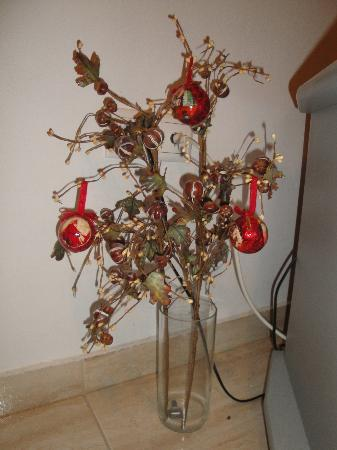 Hotel Mandravelos : Christmastime in our apartment