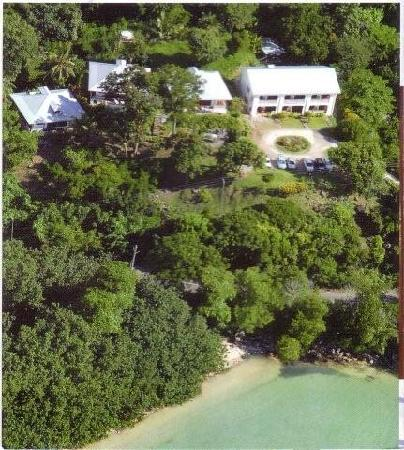 aerial view of La Residence