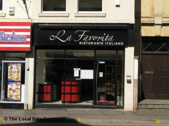 primavera pizza - Picture of La Favorita Restaurant Leith Walk ...