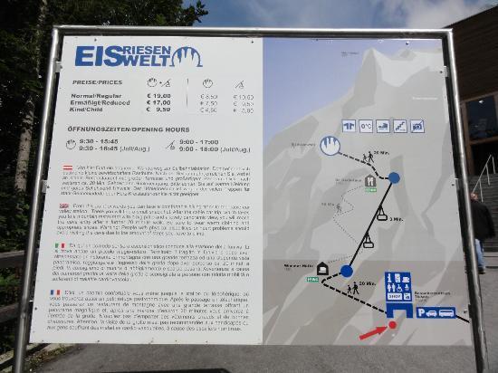 Eisriesenwelt: Beschreibung