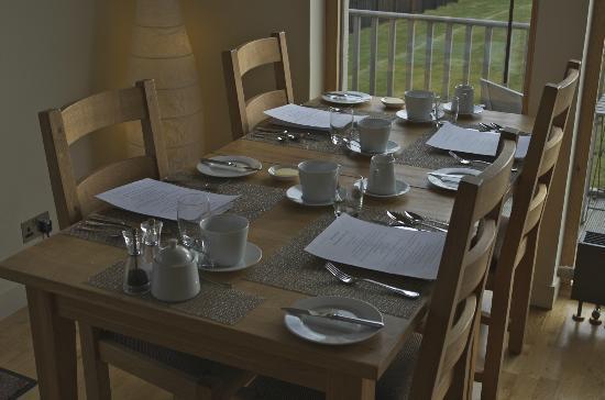 Broad Bay House: Breakfast
