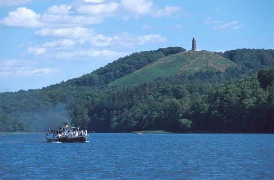 Knudhule Badehotel: Himmelbjerget