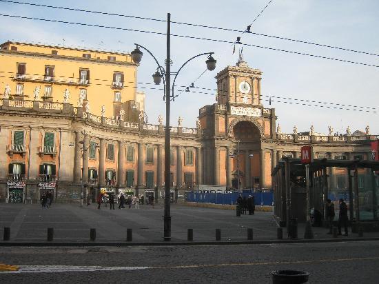 Naples, Italy: Piazza Dante