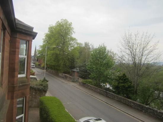 Langlands Bed & Breakfast: Looking over to the river