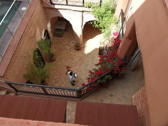 Riad Birdy: Vue plongeante