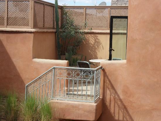 Riad Birdy: Terrasse privative de la Suite