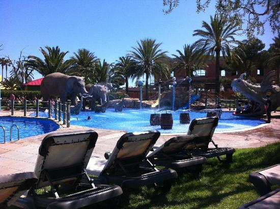 Cambrils Park Resort: Elephant pool