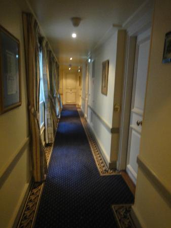Hotel d'Aubusson: 廊下