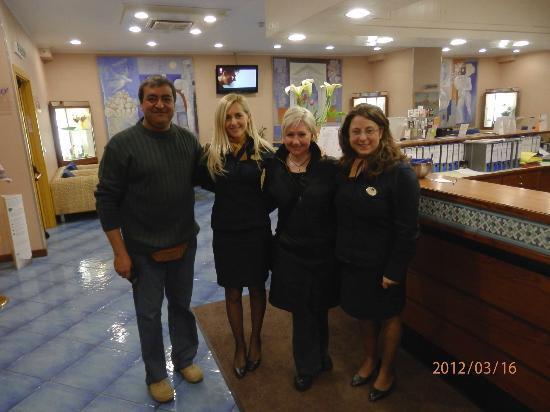 Best Western Hotel Mediterraneo: Staff Meraviglioso