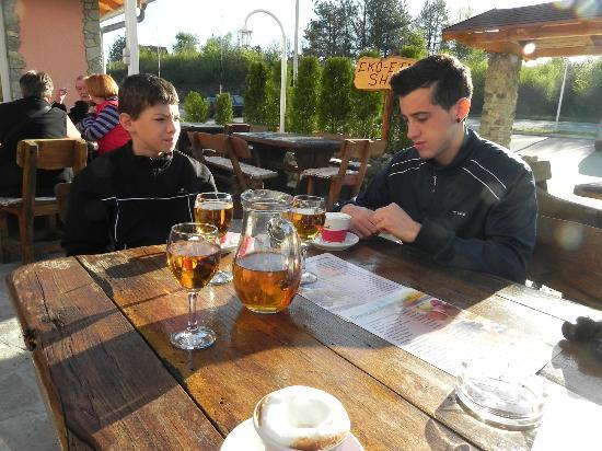 Hotel Mirjana & Rastoke: Inizio prima collazione
