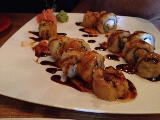 crab rangoon sushi