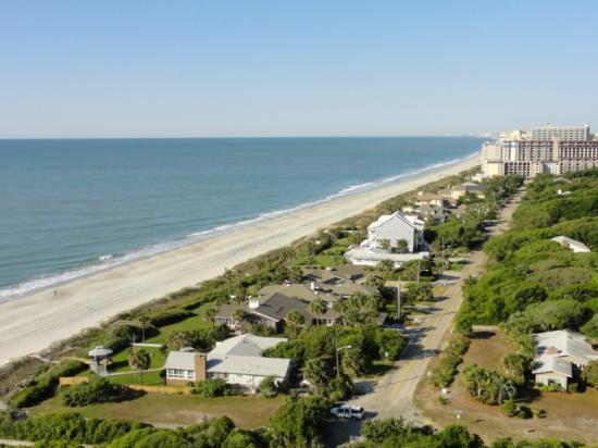 Marriott Resort at Grande Dunes Myrtle Beach: view from 15th floor