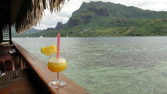 Hotel Kaveka Restaurant : Stunning View of Cook's Bay