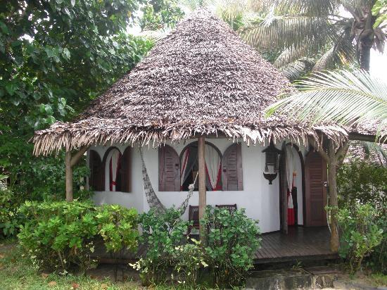 Nosy Boraha, Madagaskar: bungalow idyllique.