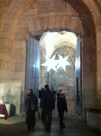 Jaffa Gate (Bab al-Khalil): puerta de iafo en el festival de musica y luces