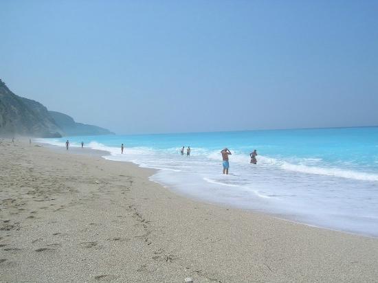 Strand von Egremni: Παραλια Εγκρεμνοι