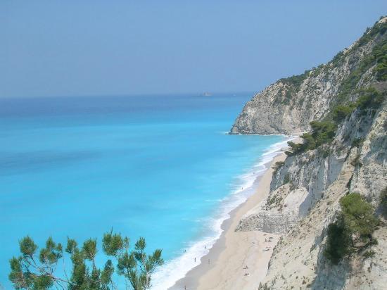 Strand von Egremni: Εγκρεμνοι