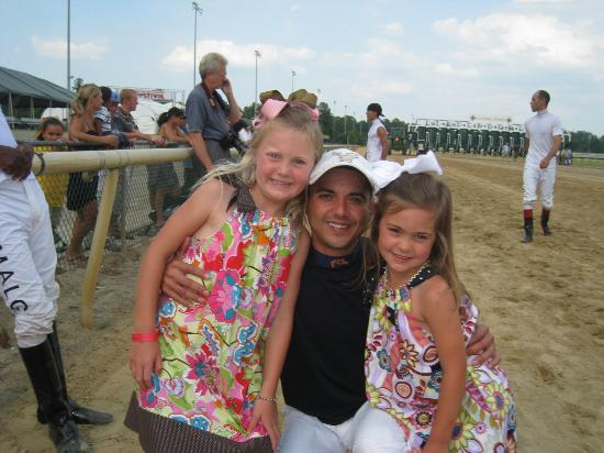 Colonial Downs: Children get a change to race on the track