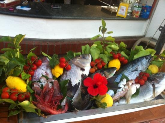 La Meridiana: il pesce fresco
