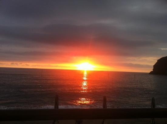 il tramonto alla meridiana