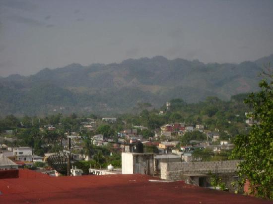 Hotel Palenque: vista desde el hotel