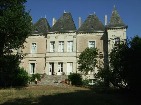Chateau du Goupillon : Frontansicht
